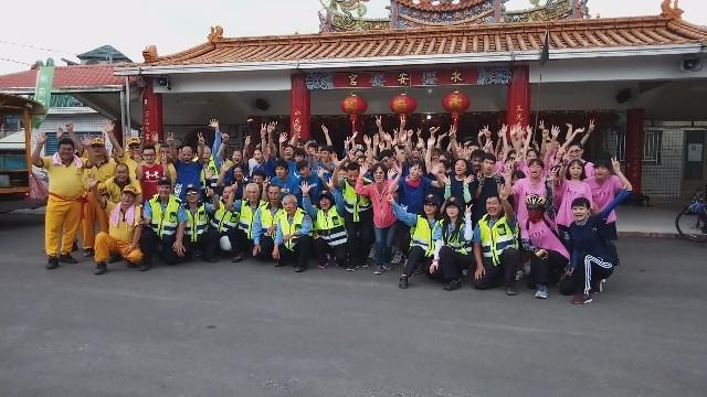 順安國中畢業生單車成年禮之行動車輛防暴宣導