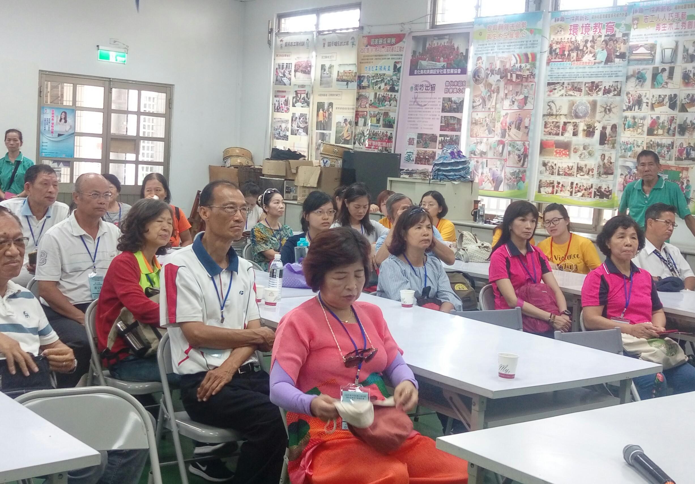 參加108年臺中市防暴社區標竿學習