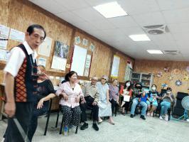 邀請泰雅族語老師以族語宣導