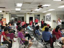 「守護社區傳遞愛 關懷弱勢防家暴」社區巡迴宣導