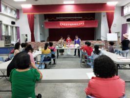 社區媽媽烘焙教室-防暴宣導