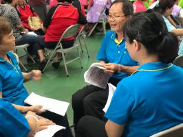 彰化縣108年度家庭暴力防治月 「彰化社區齊反暴 守護志工來出招」防暴聯盟啟動
