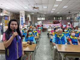社區觀摩-李宜凌宣講師防家暴宣導