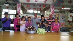 感謝新豐鄉民代表羅時乾先生贊助芋頭及香瓜