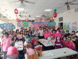 金寧鄉后盤山西山社區母親節活動防暴宣導
