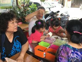 脆弱家庭支持活動─驅蚊包體驗