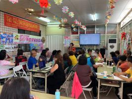 施瓜寮社區參加分區培訓