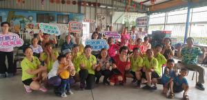 108年5月26日 大洲社區據點結合警察志工護老交通安全話劇及反暴力宣導