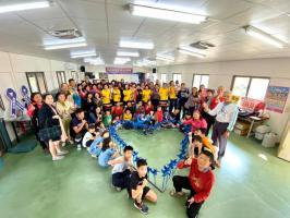 華崙社區守護幼苗系列活動 「讓愛轉動藍風車 社區兒童真快樂」