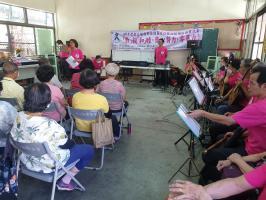 「敦」親「和」睦,齊心努力零暴力-營北里國樂防暴劇宣導