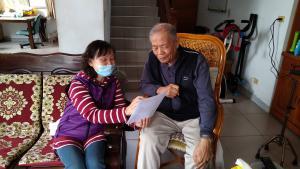 1100215獨居長輩防暴宣導與關懷訪視