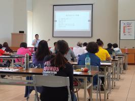 參與南投縣政府辦理防暴宣講師初階培力訓練課程