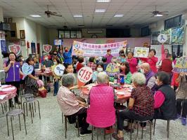 向陽關懷據點志工大會暨餐敘-李宜凌宣講師防家暴宣導